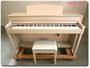 YAMAHA 電子ピアノ ラクビノーバ CLP545WA【中古品】2015年製